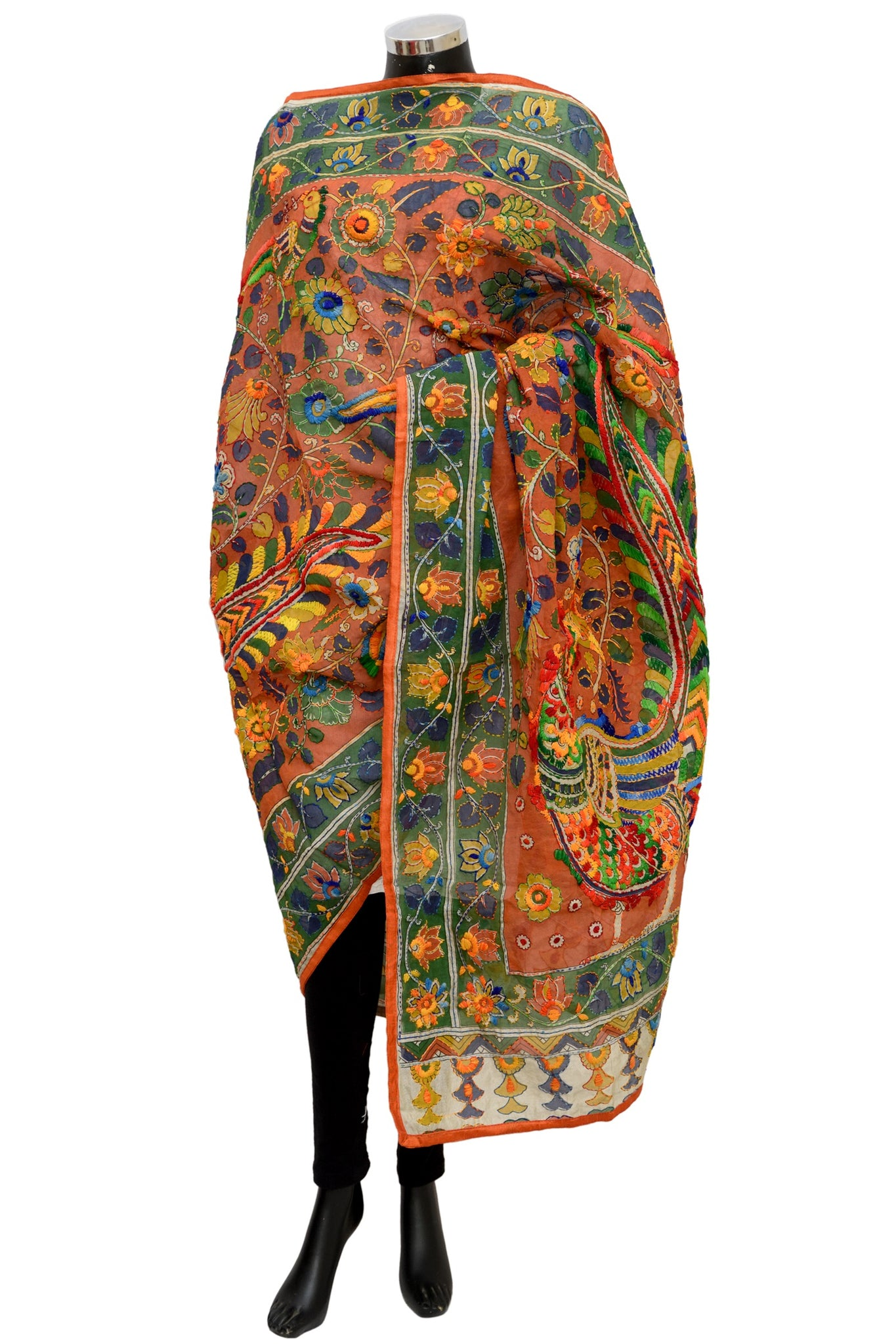 Embroidered shawl/ dupatta #fdn1195-141
