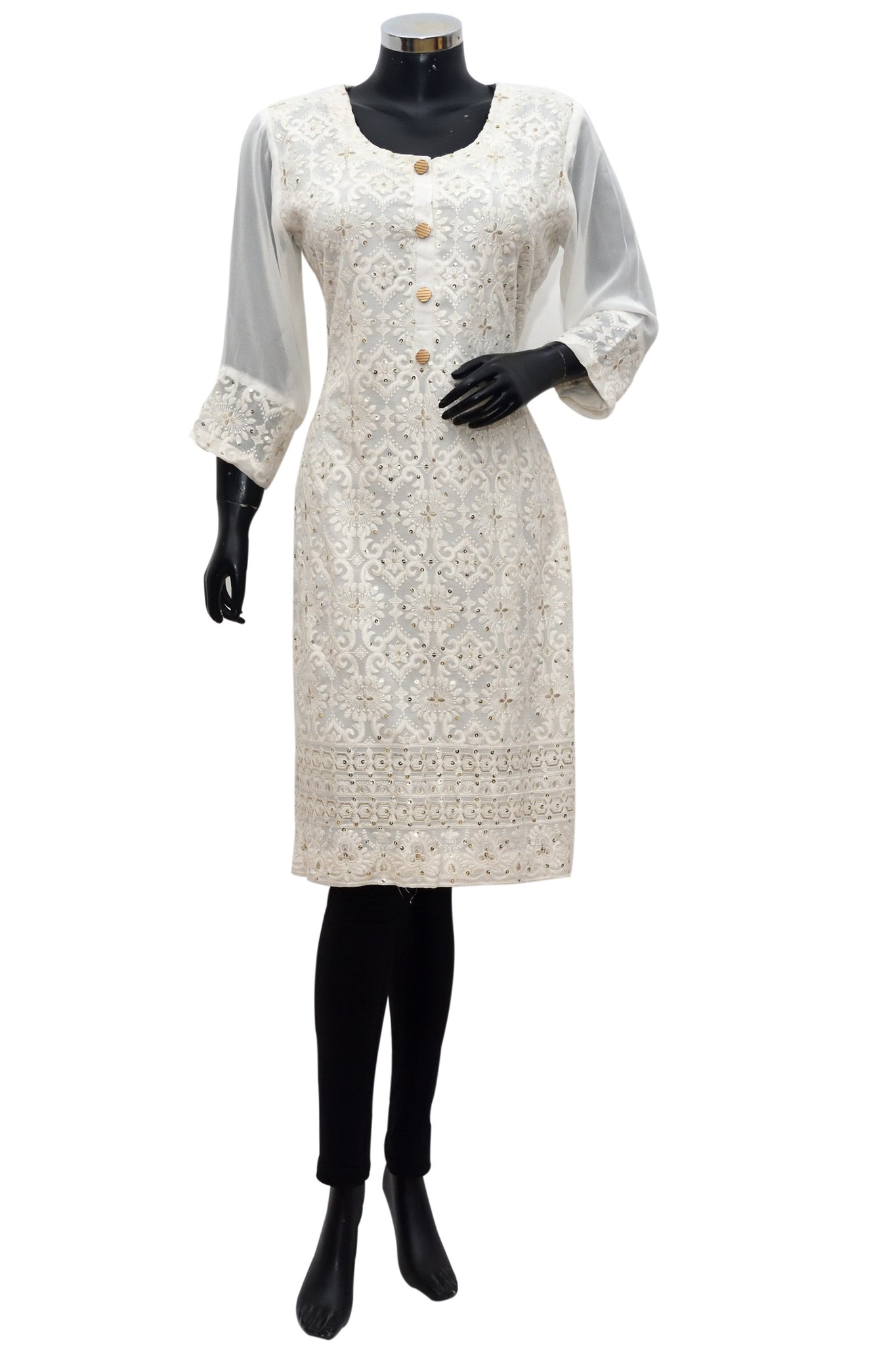 Embroidered kurta top #gdn 1072-162