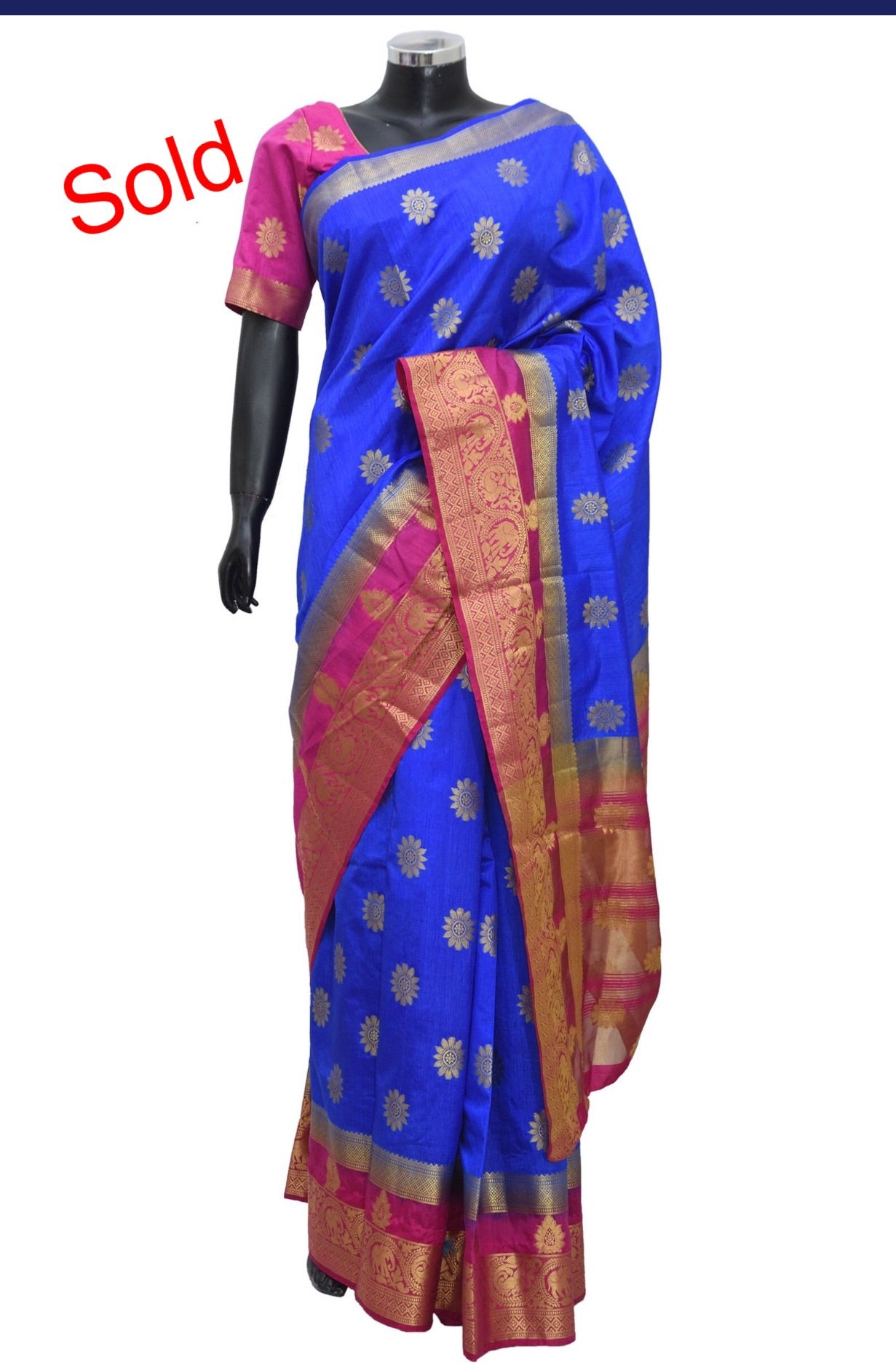 Silk saree #fdn1549-211