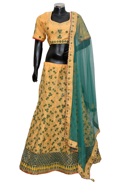 Embroidered Lengha #fdn8050-701