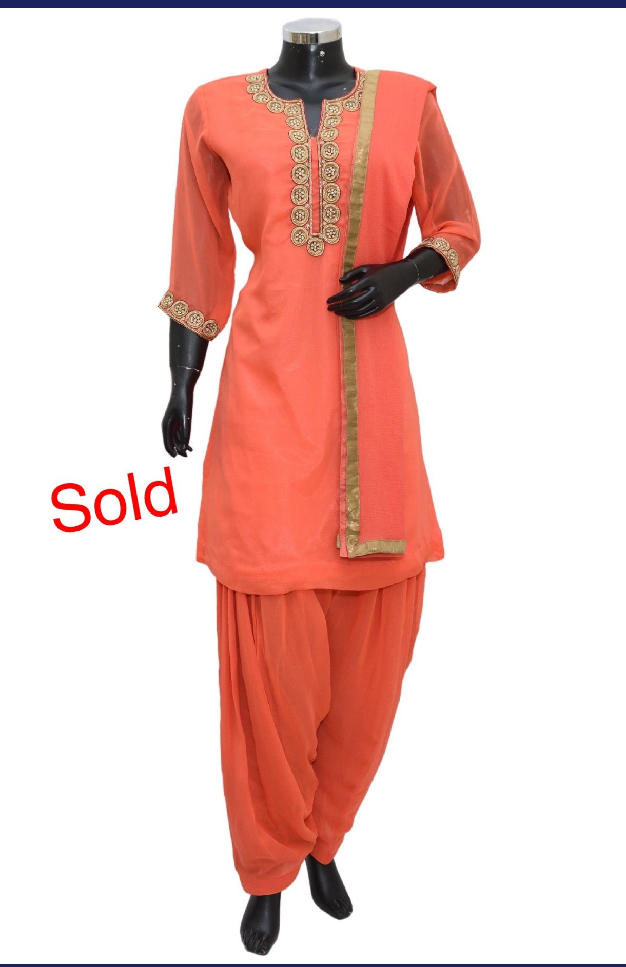 Embroidered patiala set #fdn1169-321