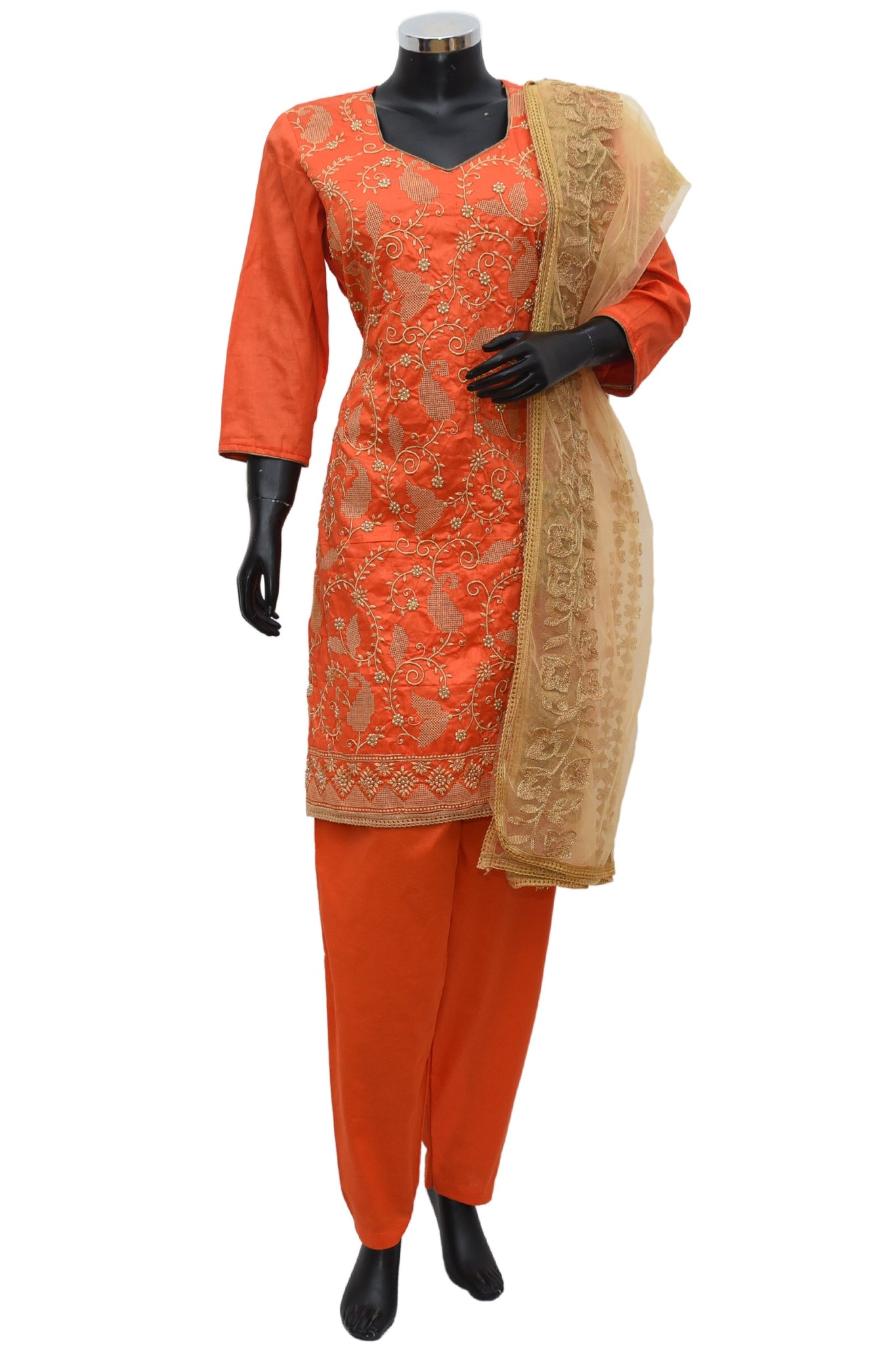 Heavy embroidered kurta full set #fdn738-191