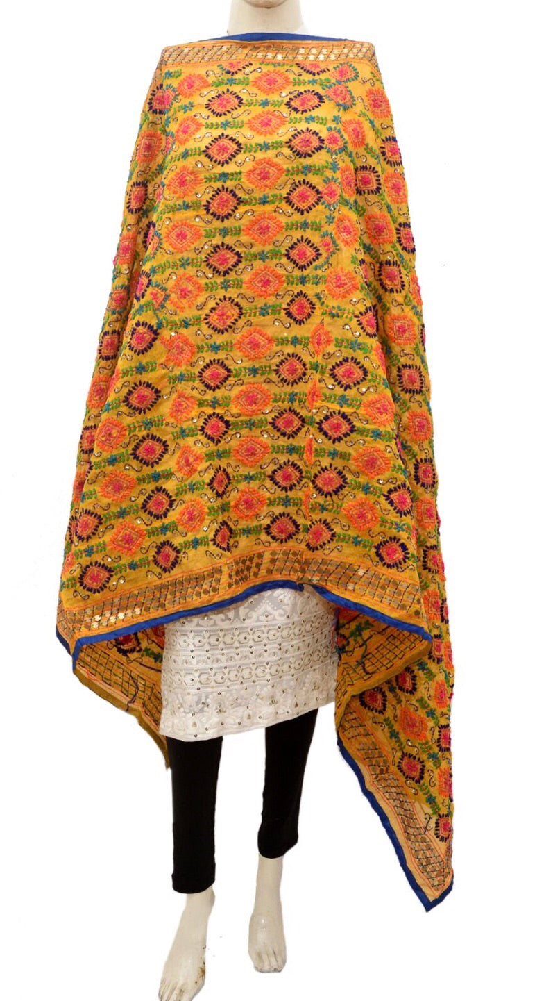 Embroidered dupatta #fdn944-141