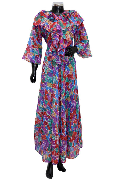 Long maxi dress #fdn1930-101