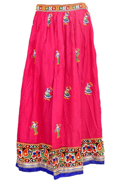 Embroidered skirt #fdn5044-201