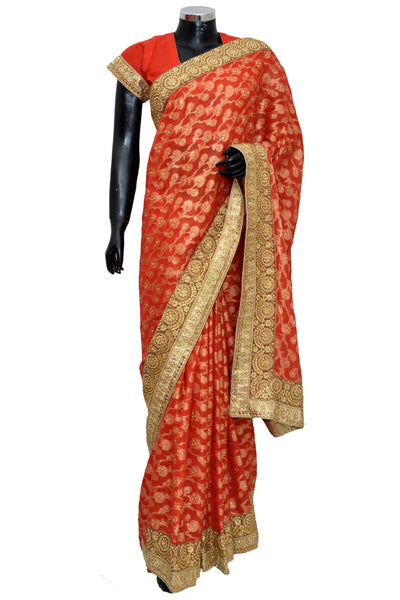 Fancy party wear Saree # fun 8052-501