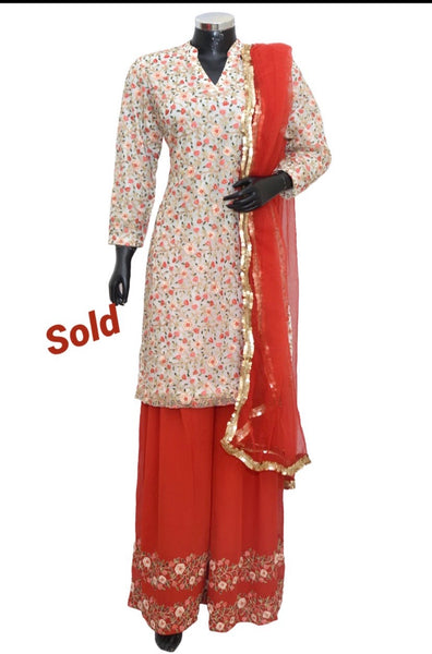 Party wear sharara set #fdn8025-701