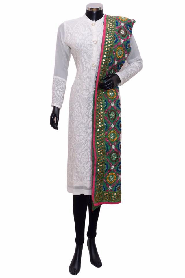 Embroidered stole fdn0339