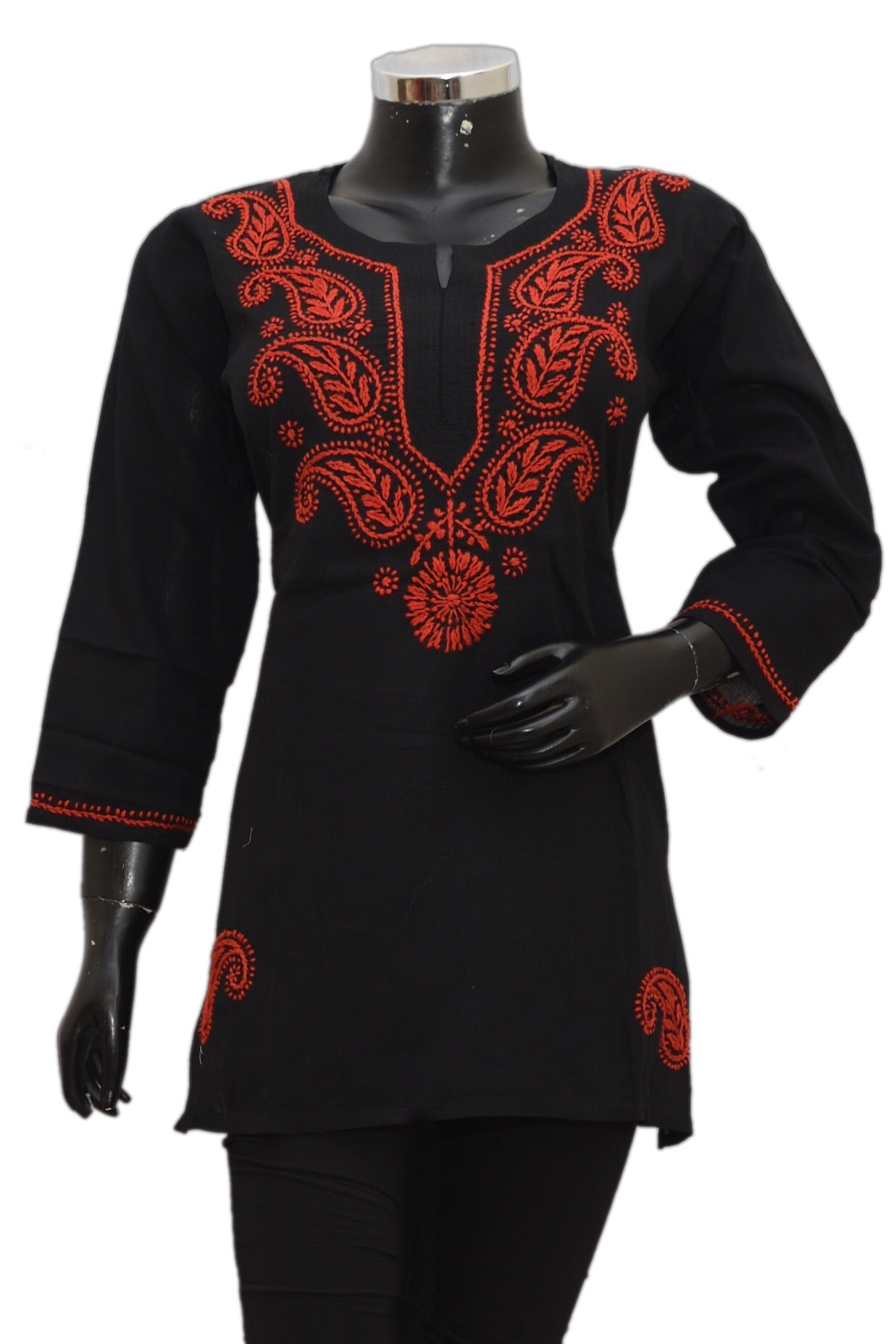 Cotton embroidered kurti  fdn1393-81