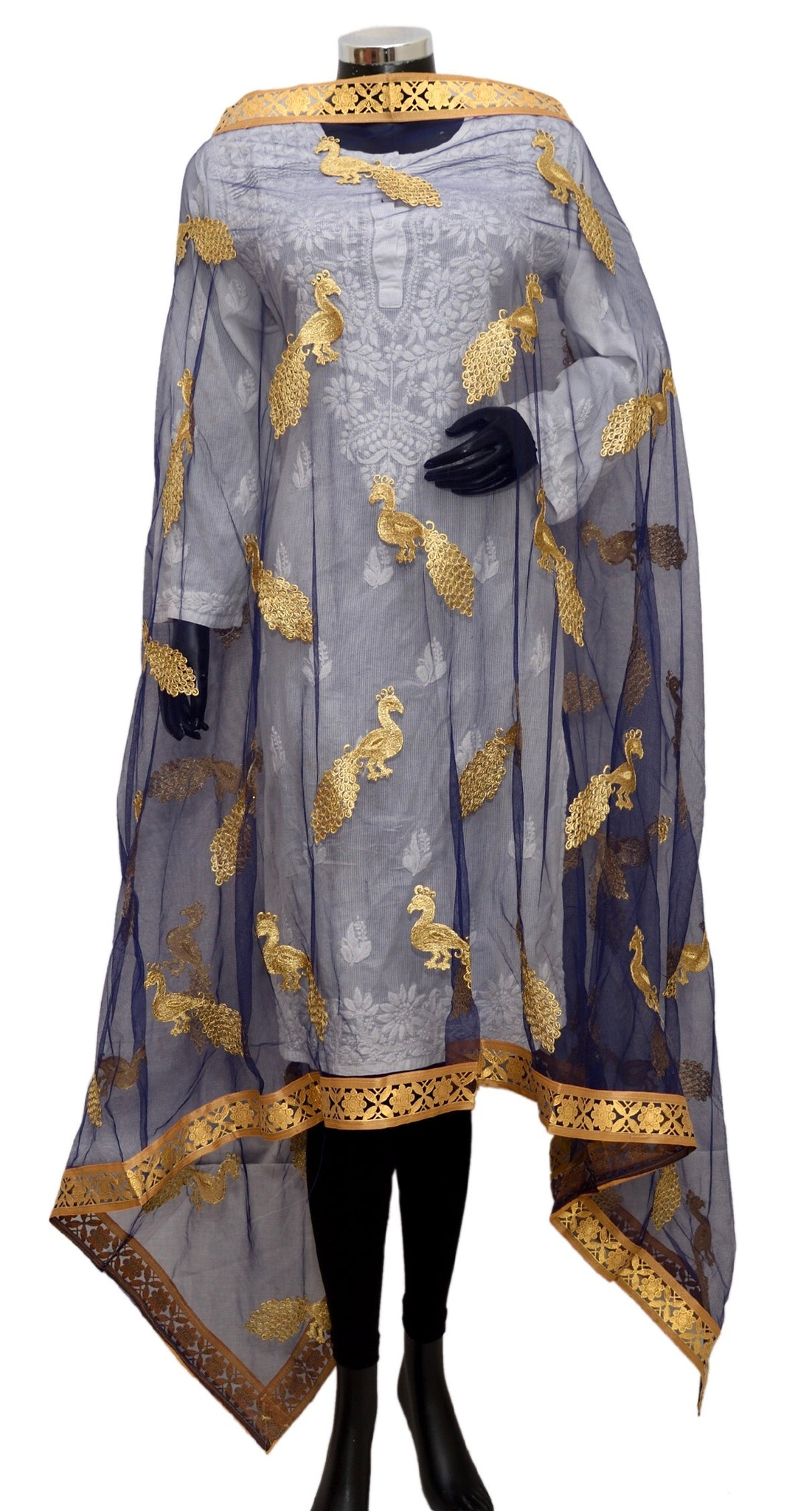 Fancy net dupatta fdn1389-141
