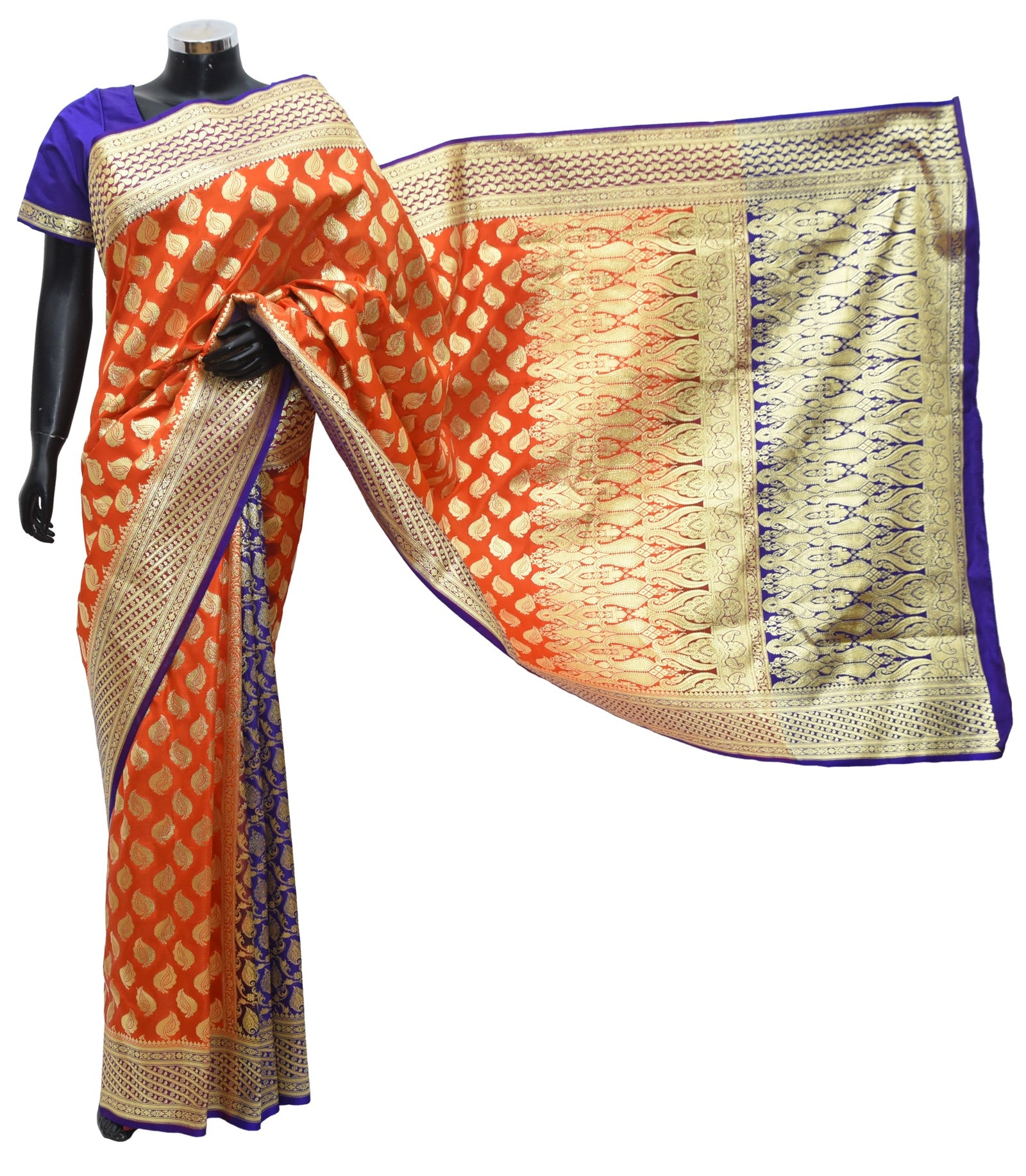 Banarsi silk saree Fdn11007-361