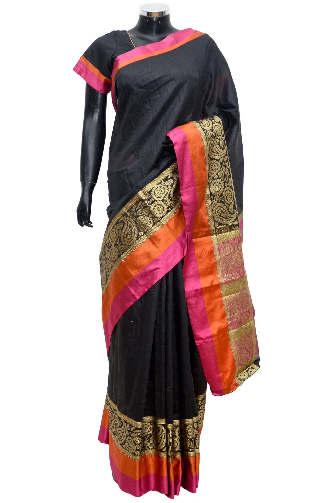 Pure silk cotton saree #fdn1063-321