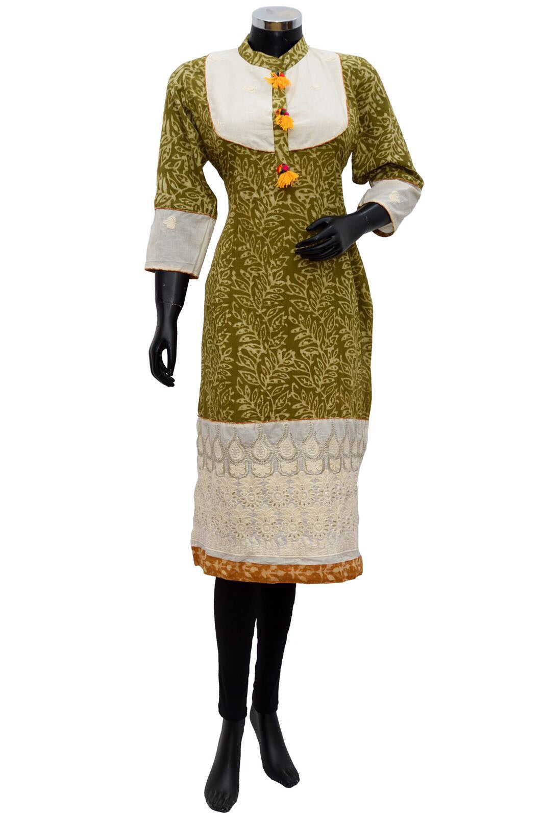 Casual embroidered kurta #fdn759-191
