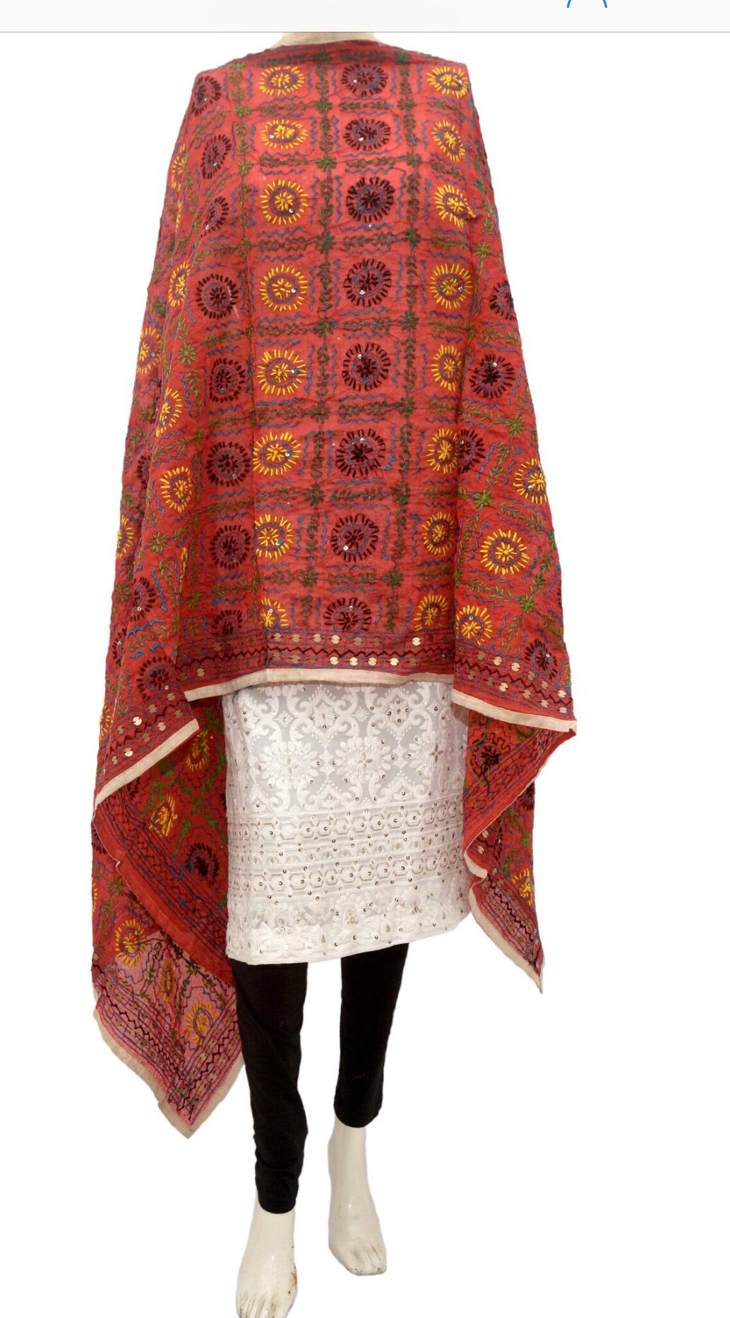 Embroidered dupatta #fdn912-141