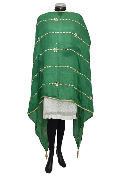 Fancy real mirror work dupatta#fdn8012-101