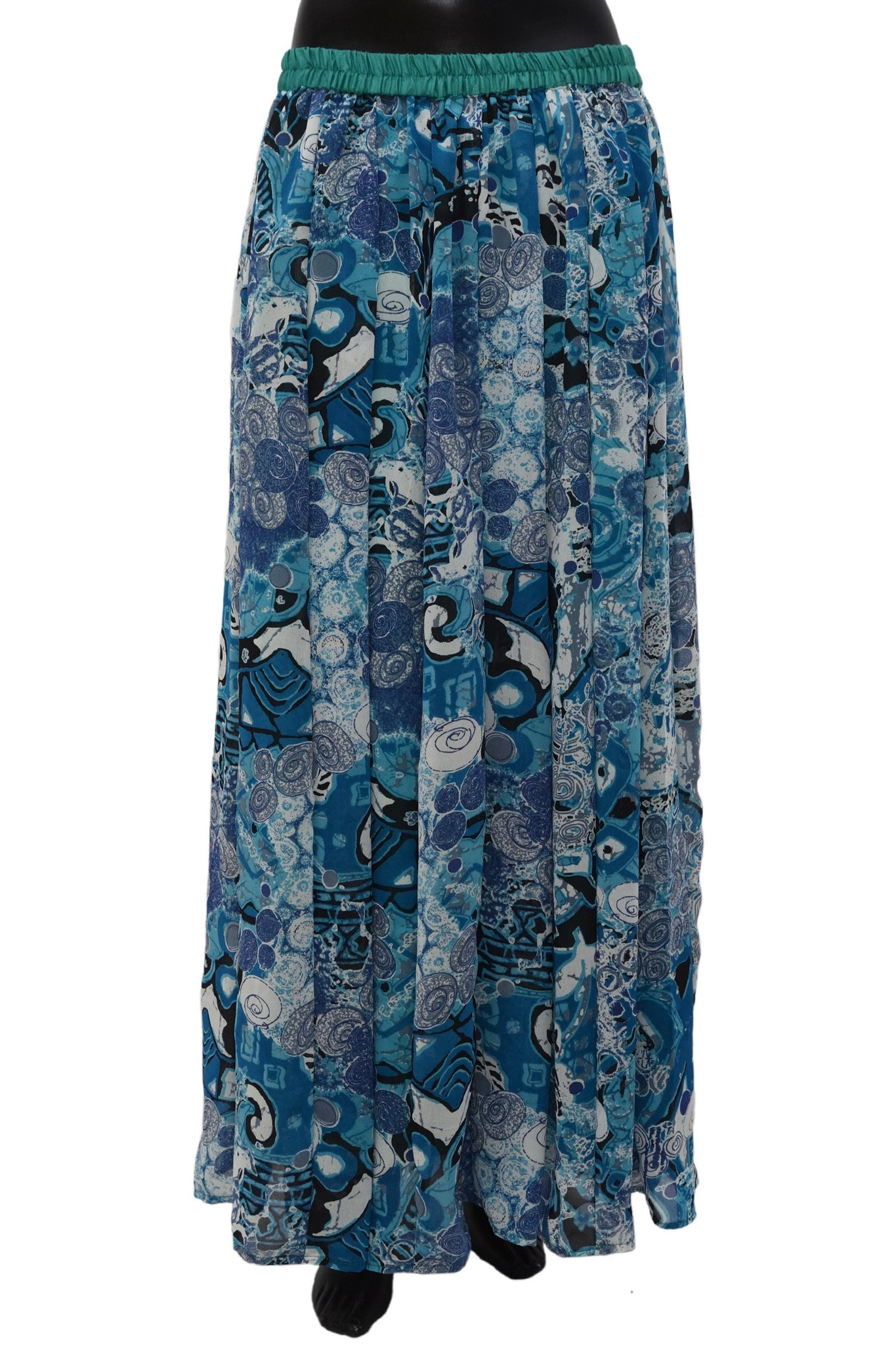 Printed long skirt #fdn0478 /10