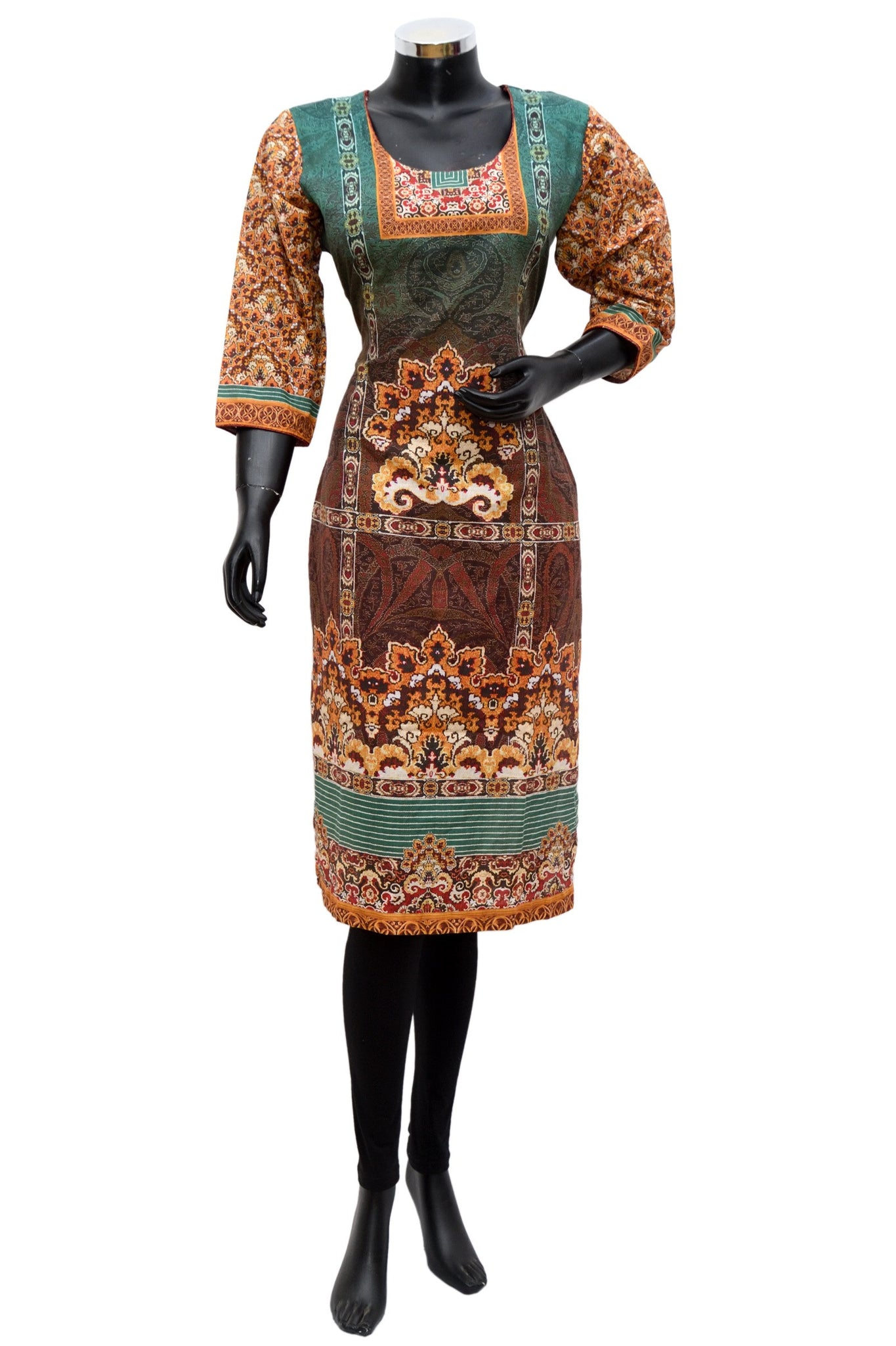 A printed long kurta #fdn661-131
