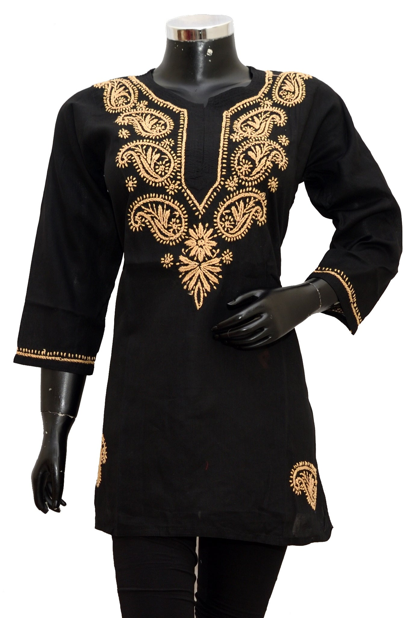 Cotton embroidered kurti fdn1394-81
