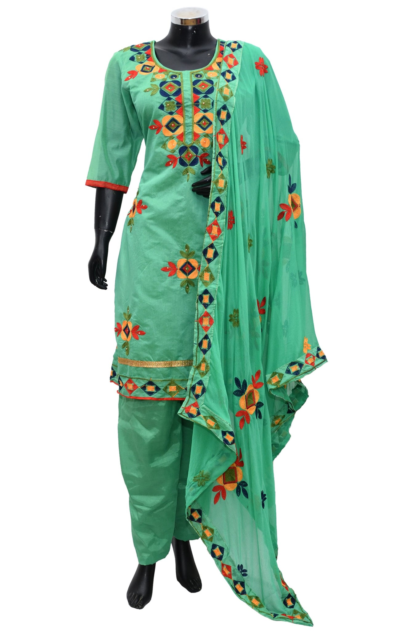 Embroidered suit fdn997-141