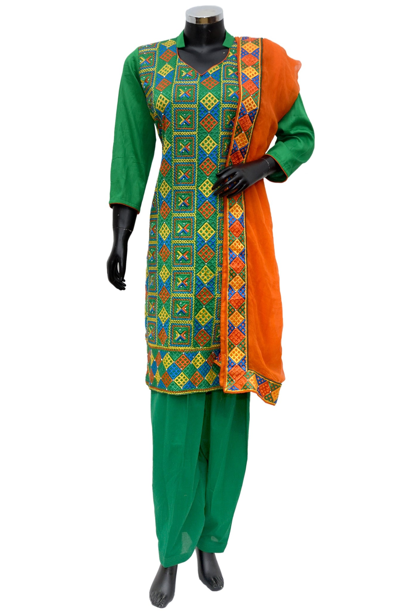 Phulkari colorful full set #fdn723-161