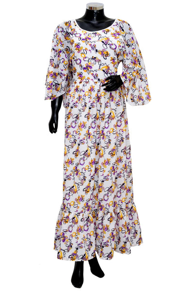 Long maxi dress #fdn1931-101