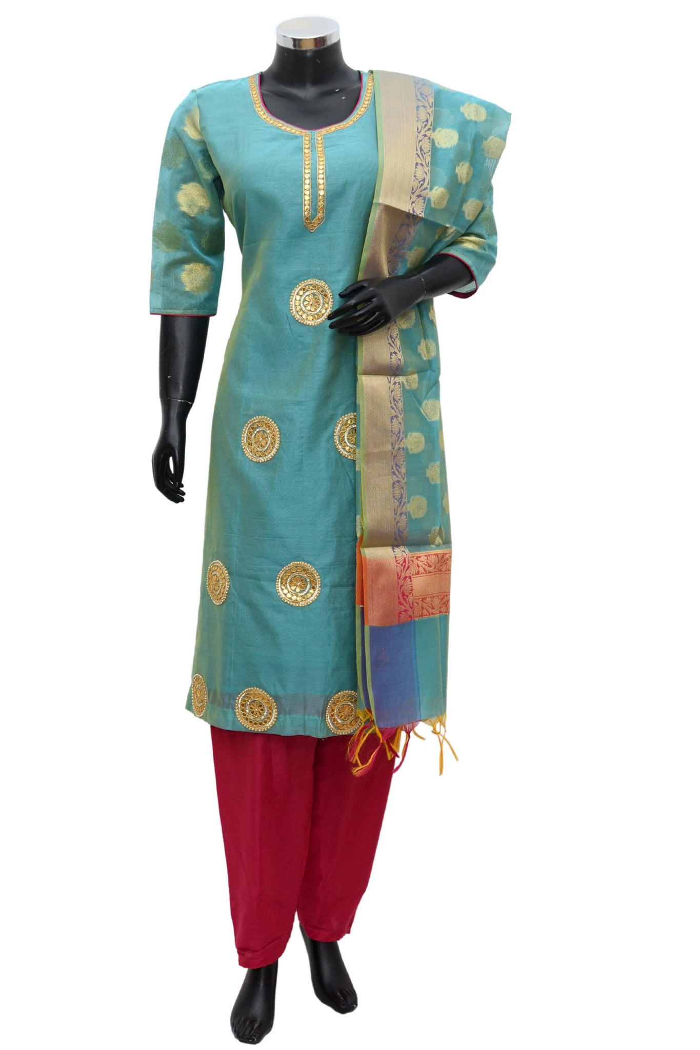 A. Amaris embroidered suit #fdn877-251