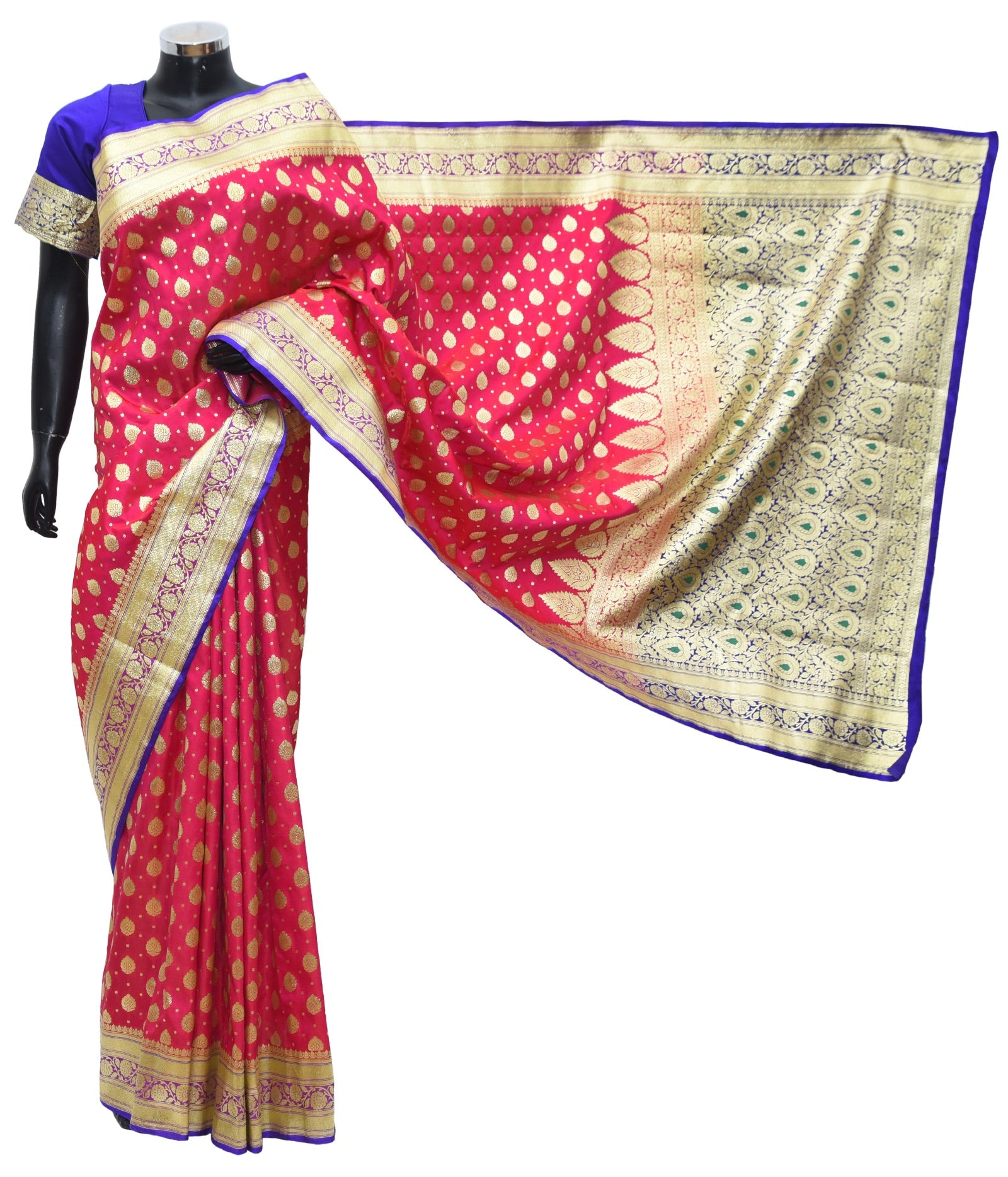 Banarsi silk saree Fdn1009-361