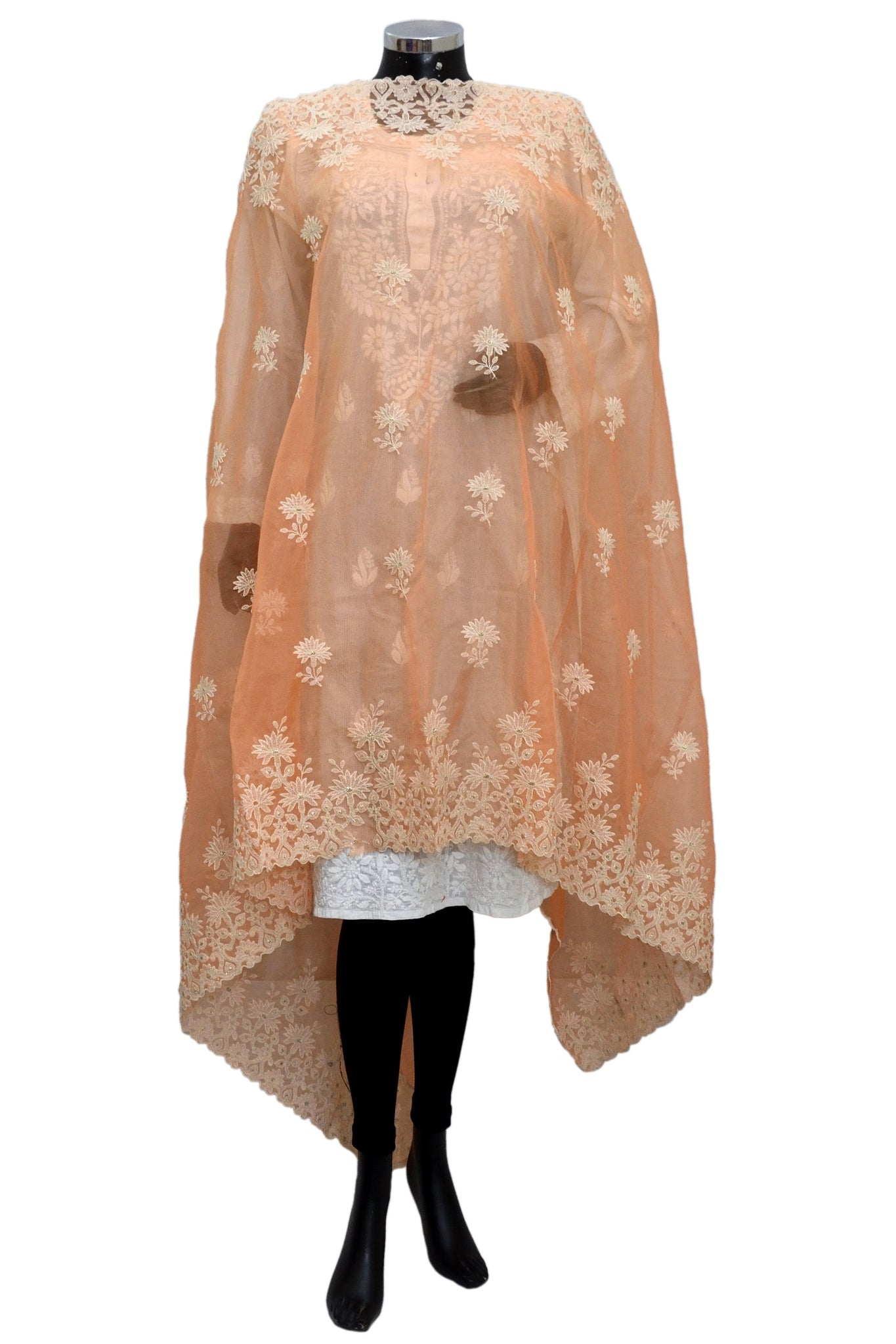 Embroidered fancy dupatta fdn1376-141