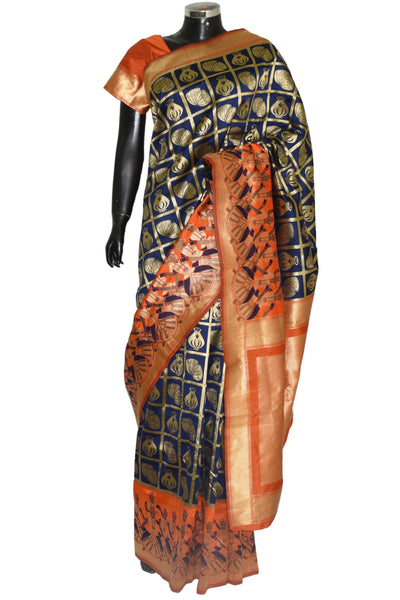 Beautiful Banarsi silk saree  #fdn1239-401