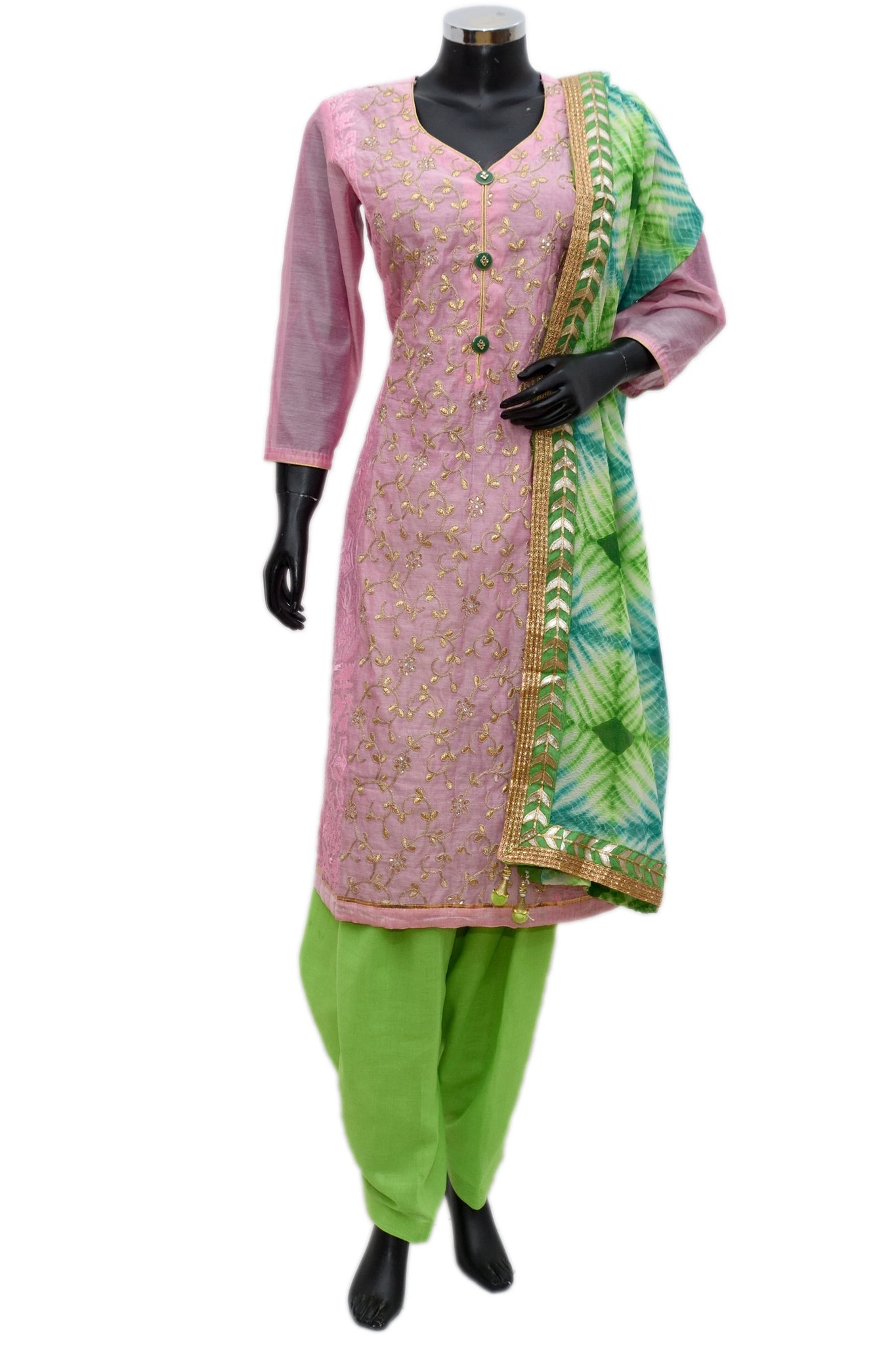 Embroidered full suit set #fdn730-281