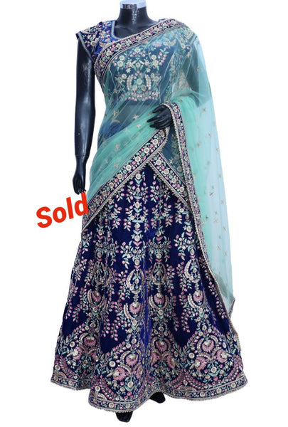 Ethnic embroidered Lengha #fdn90926-701