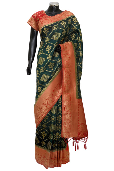 Banarsi silk saree #fdn1236-401