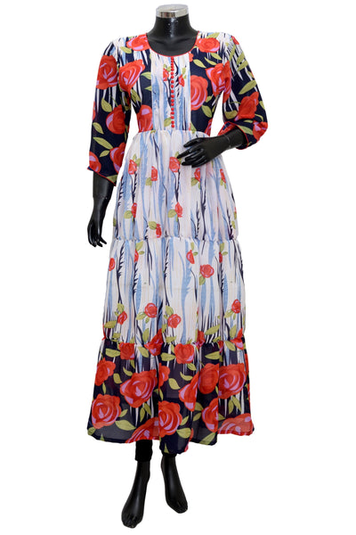Long floral dress #fdn1916-101