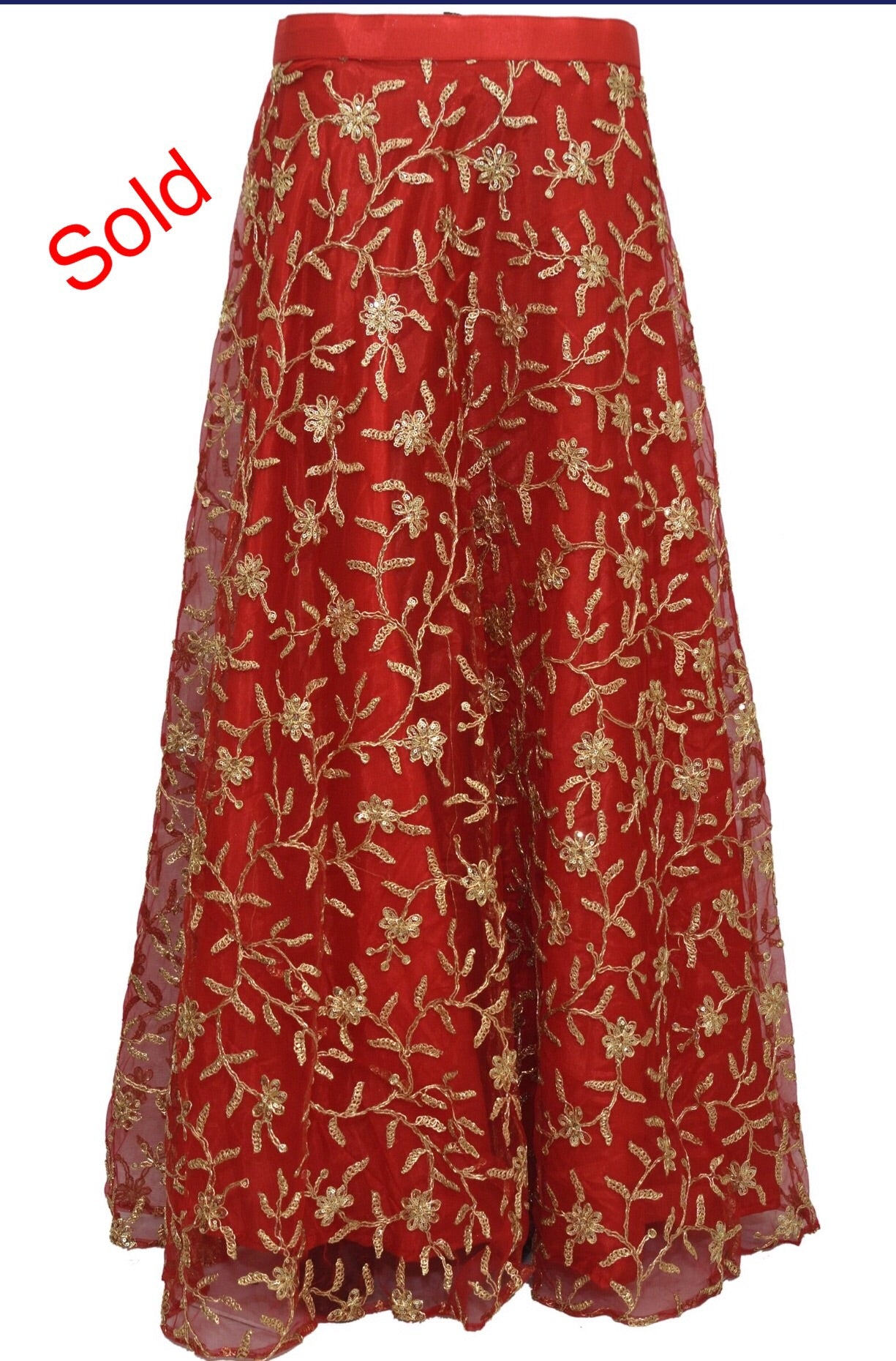 Fancy long skirt #fdn1807-101