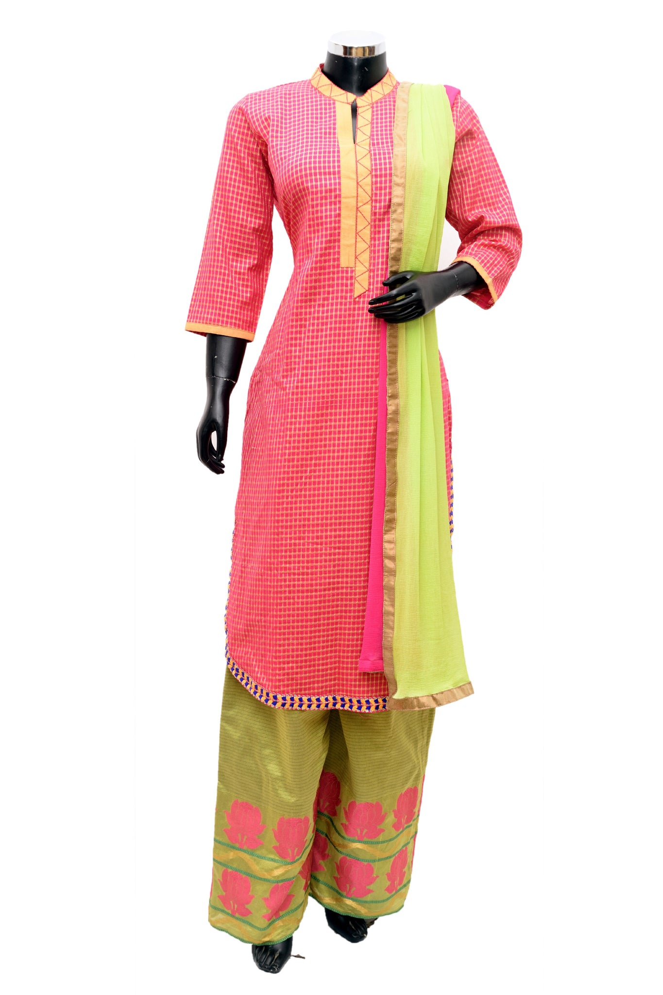 Long kurta with palazo #fdn801-321