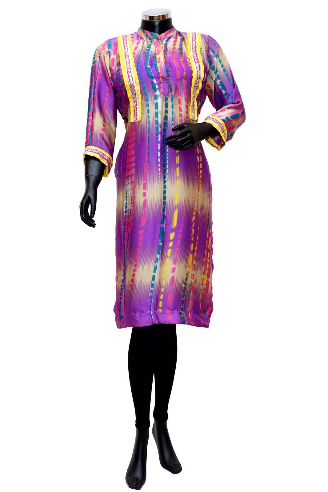A tiedye textured long kurta #fdn0313