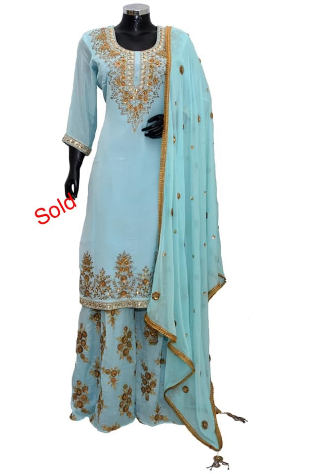 Sharara set fdn5026-571