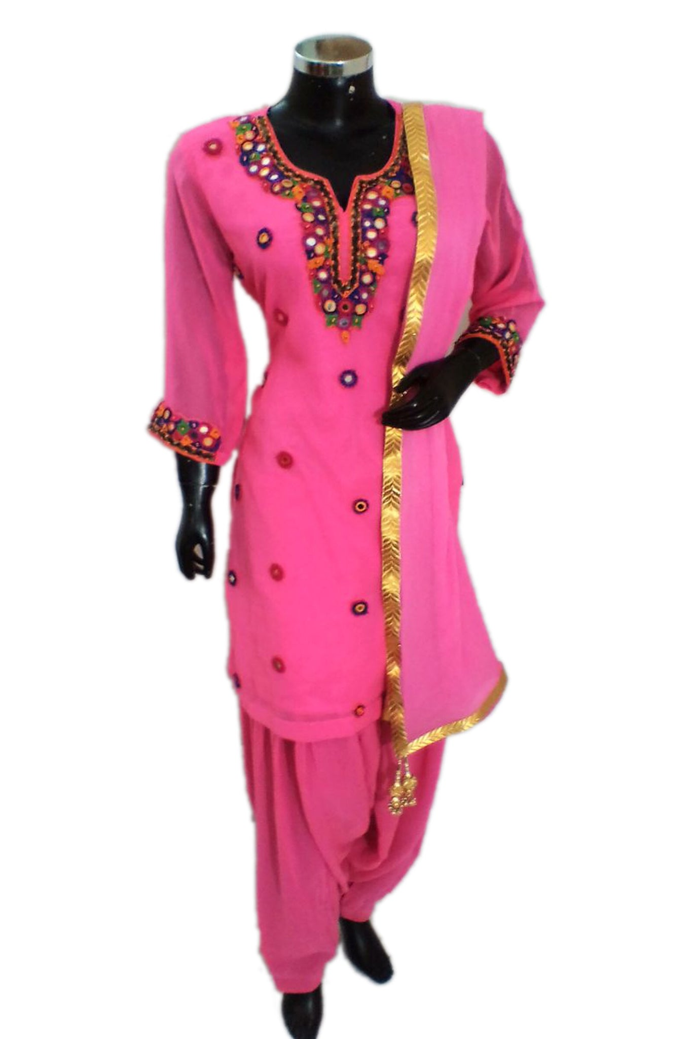 Embroidered patiala set fdn1315-321