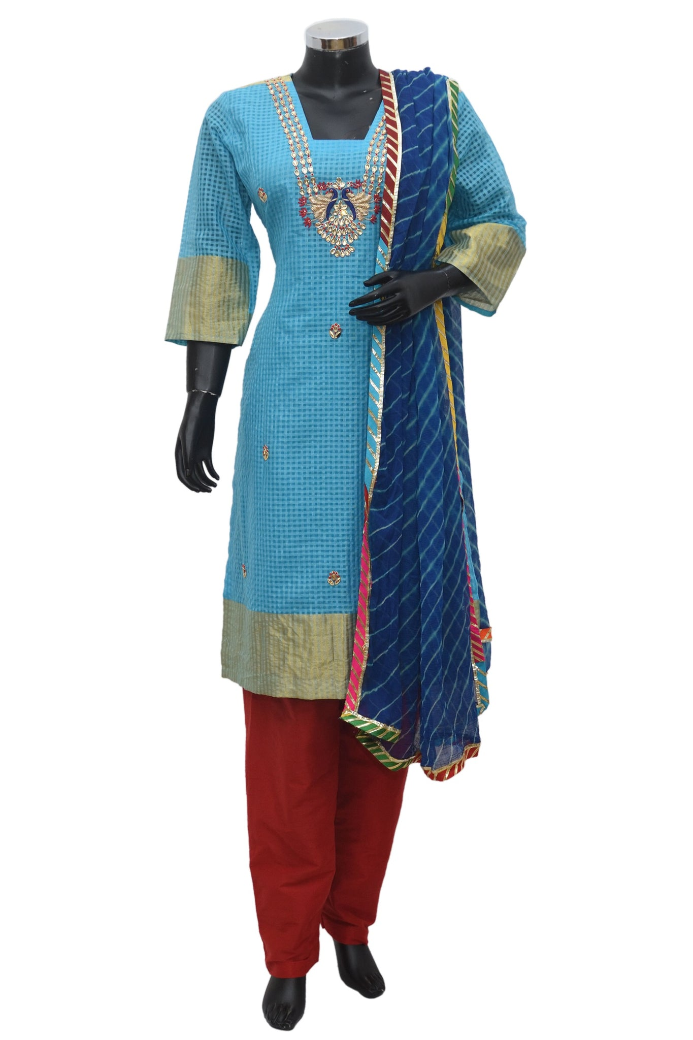 Embroidered suit #fdn872-251