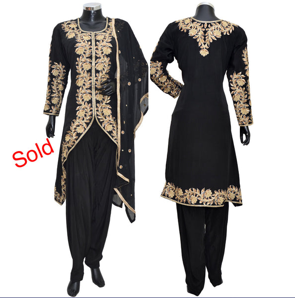 Party wear embroidered dress #fdn5046-851