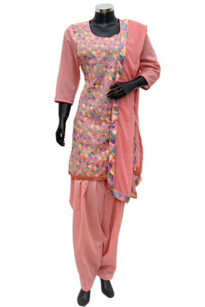 Embroidered full suit set #fdn722-161