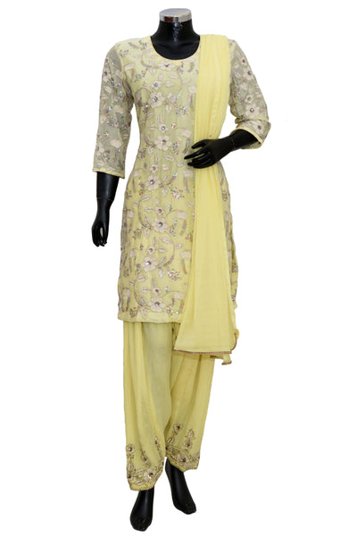 Party wear patiala embroidered set #fdn8023-701