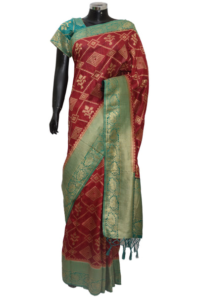 Beautiful Banarsi silk saree  #fdn1237-401