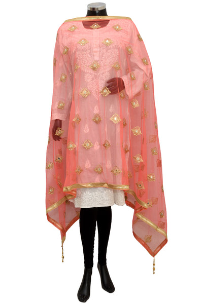 Mirror work net fancy dupatta #fdn1501-141