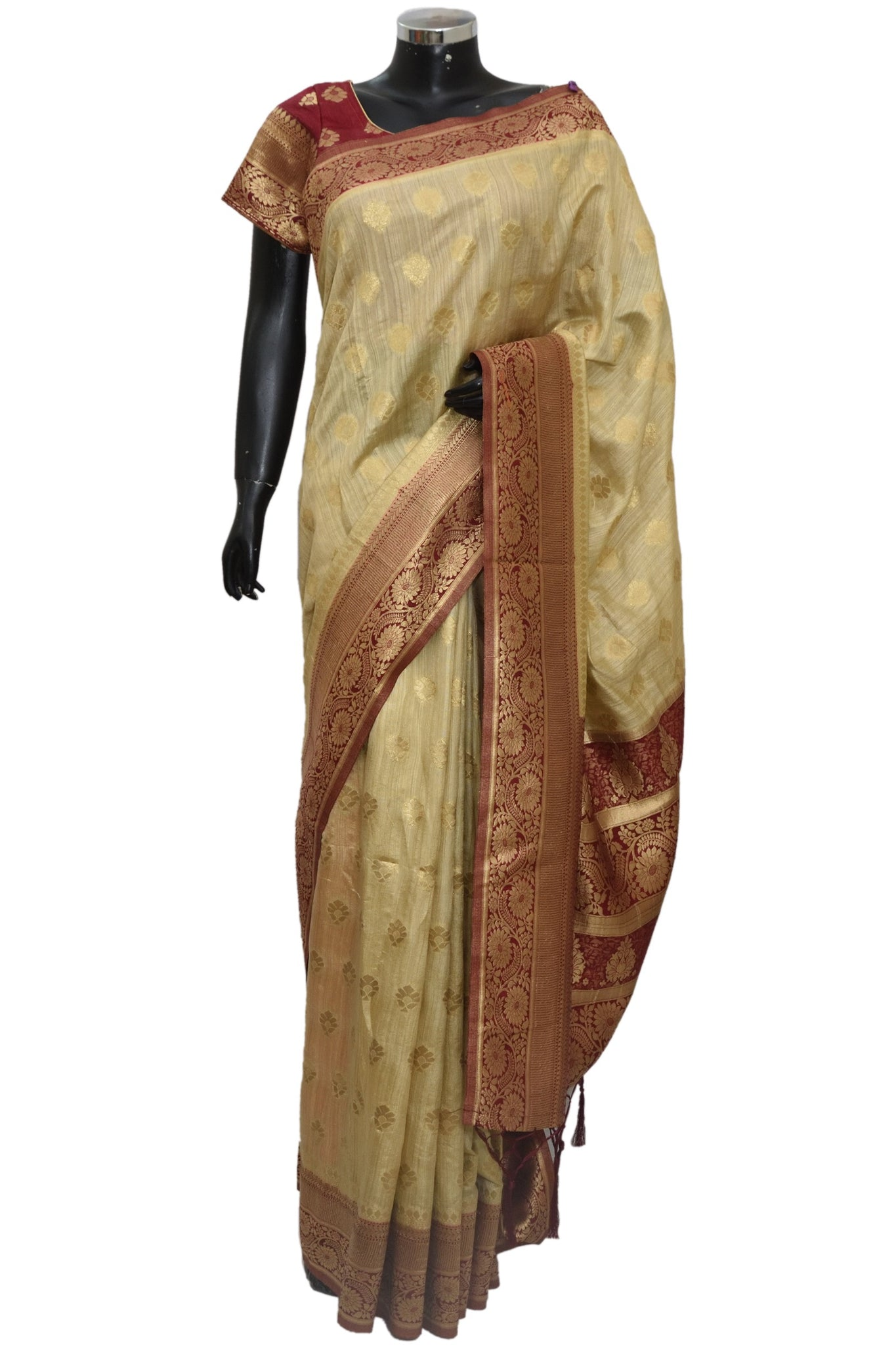 Banarsi silk saree #fdn1235-401