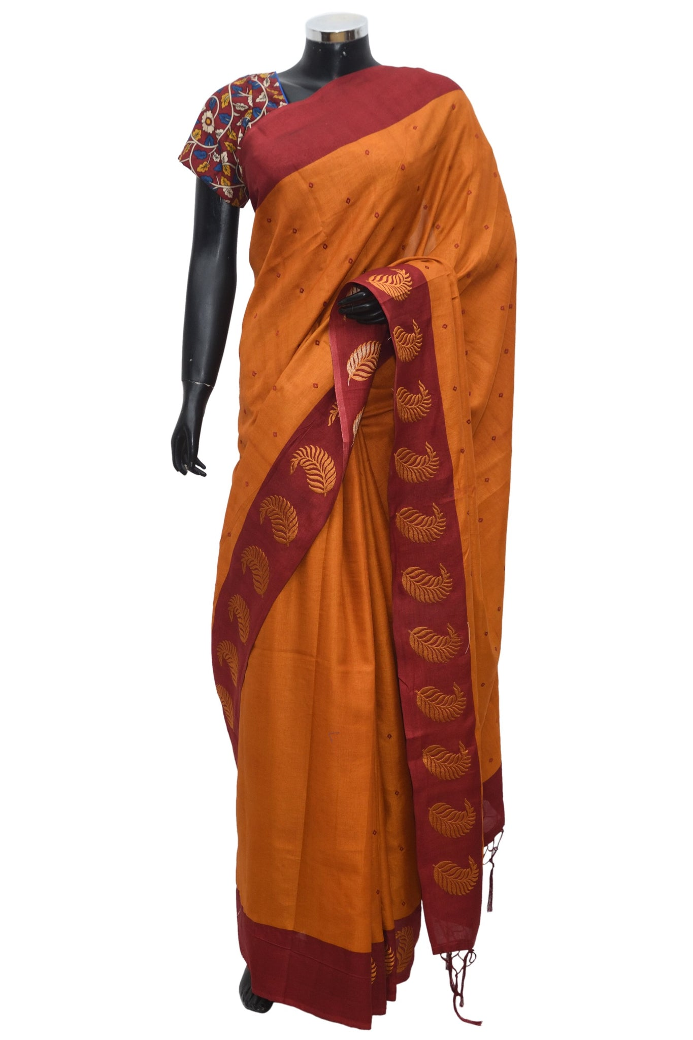 Pure silk cotton saree #fdn1062-321
