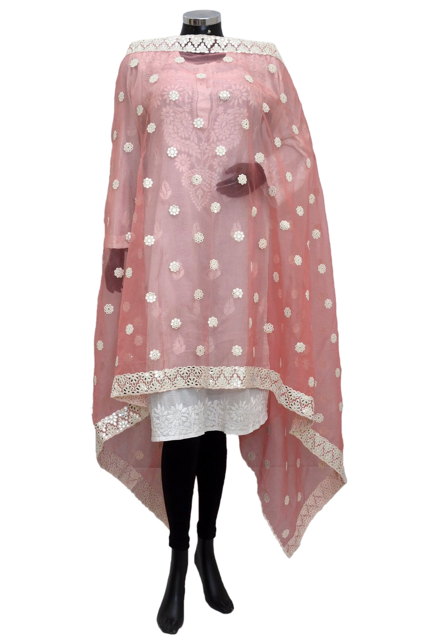 Fancy embroidered dupatta fdn1380-151