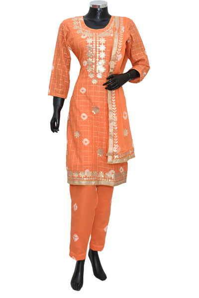 Embroidered suit set 6071-201