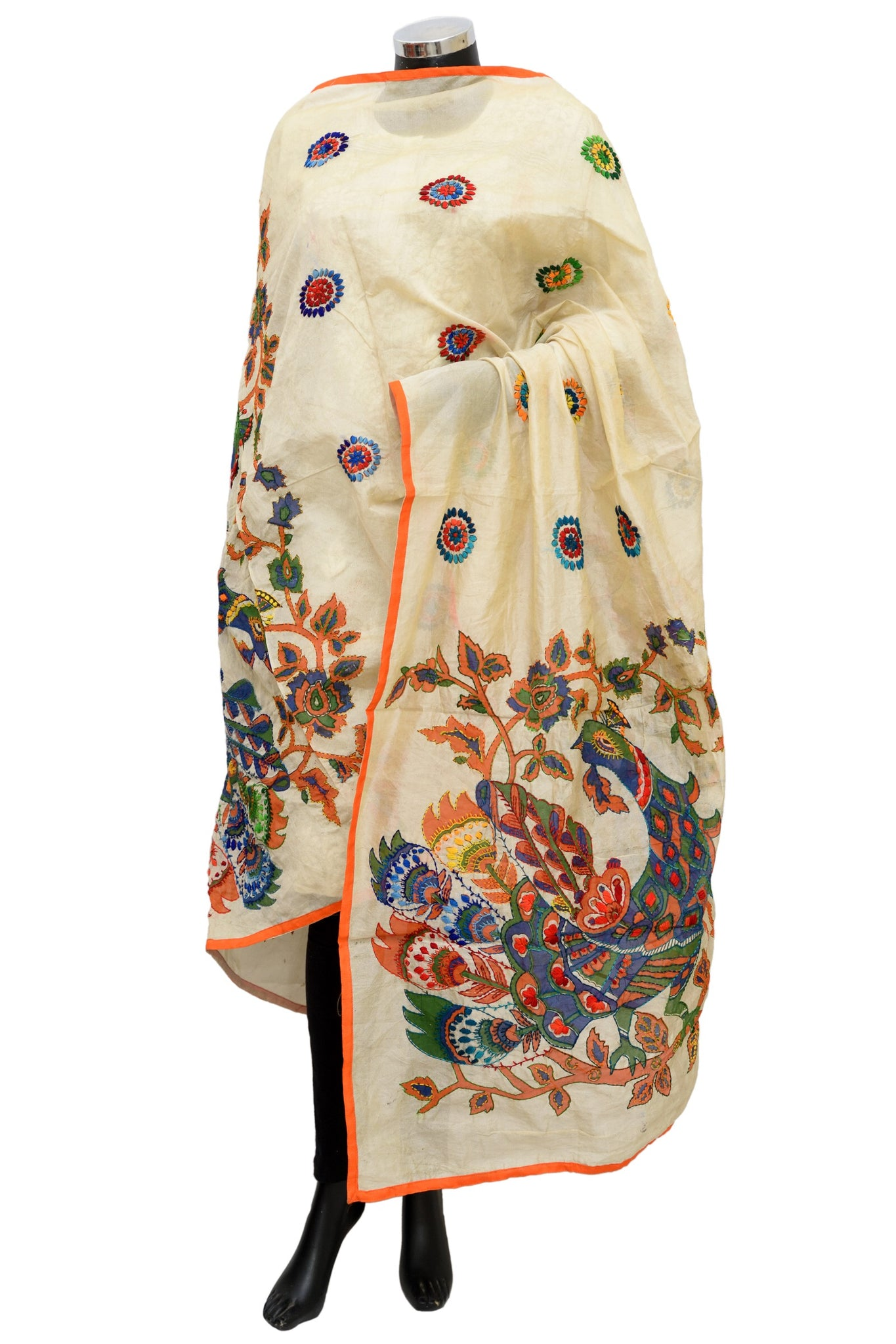 Embroidered dupatta /shawl #fdn1201-141