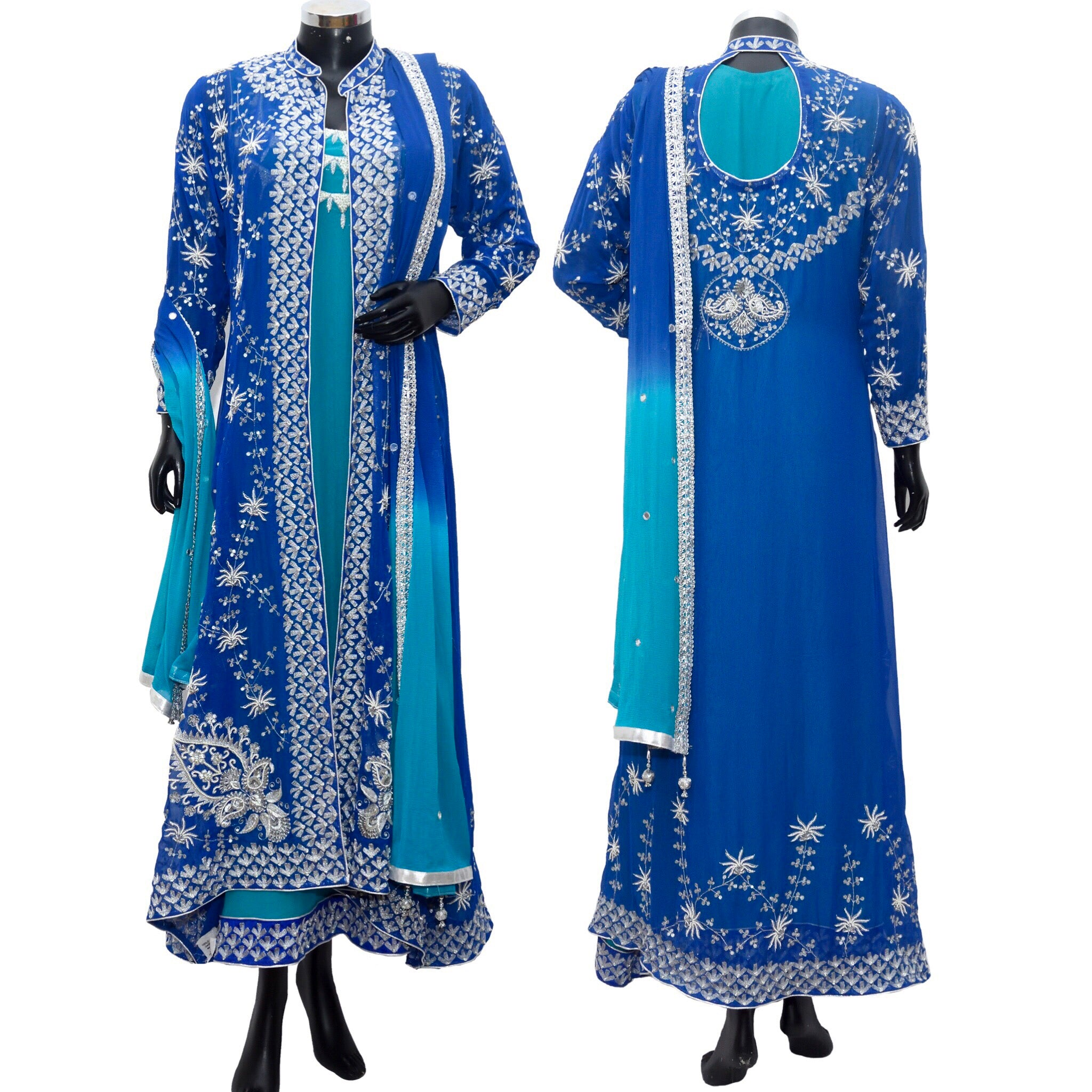 Long embroidered dress fdn1135-1001